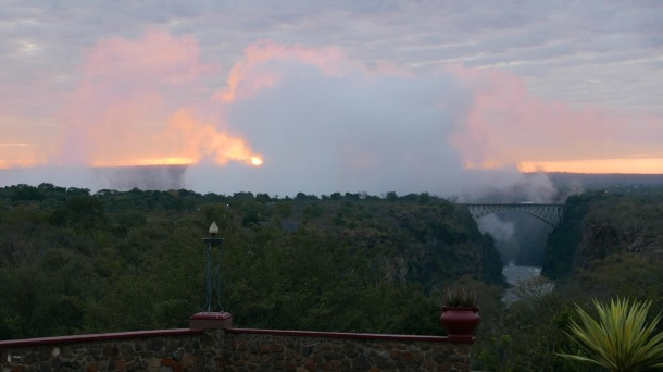 Victoria Falls - Zimbabwe Victoria Falls Hotel (Sunset)