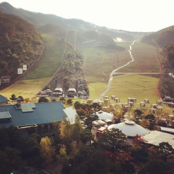 The beautiful Gonjiam resort and foliage
