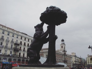Puerta del Sol - the statue of the Bear and the Madroño Tree