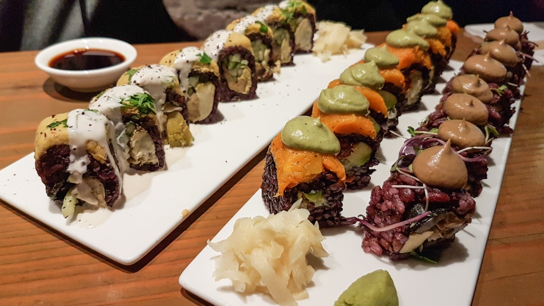Christine Wedberg vegan sushi New York