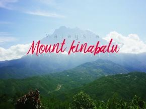 I see the MountKinabalu