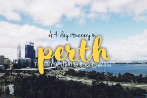 Perth 4 DayItinerary