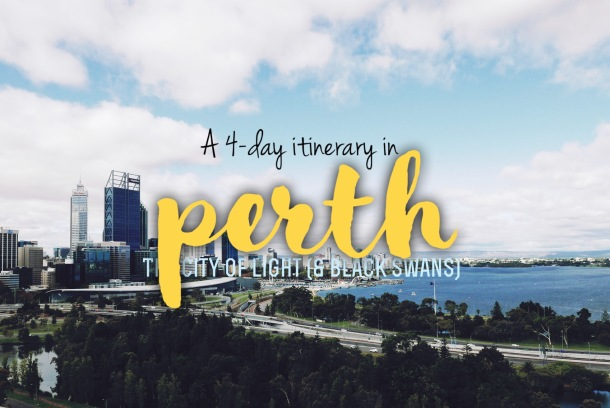 Perth 4-Day itin (Cover)