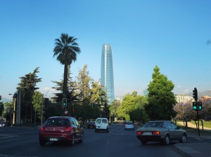 The view of Santiago - 1