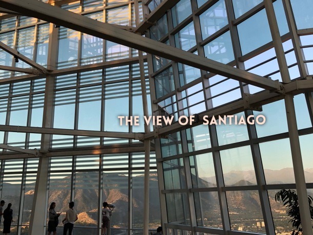 The view of Santiago - Cover