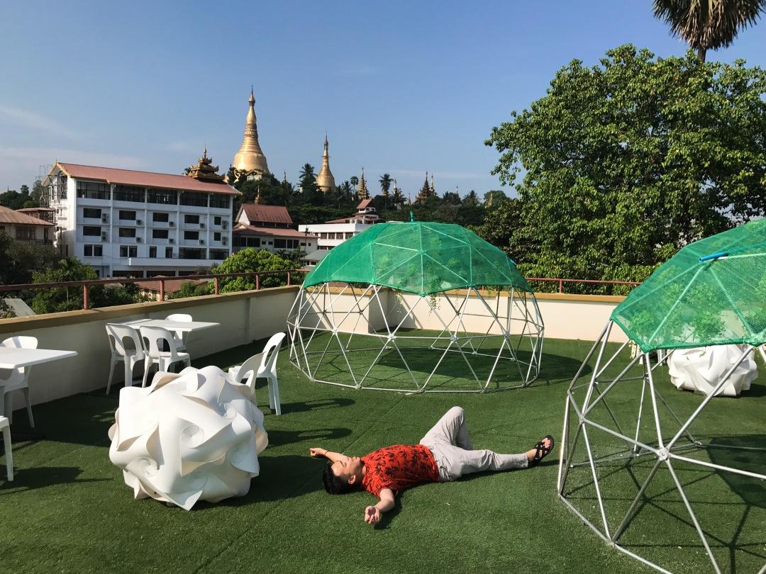 Pagodas, Yangon, Myanmar
