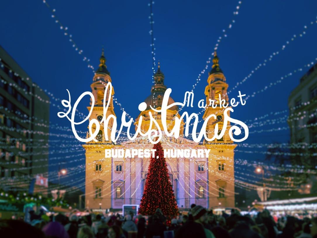 Europe Christmas Market - Budapest 1