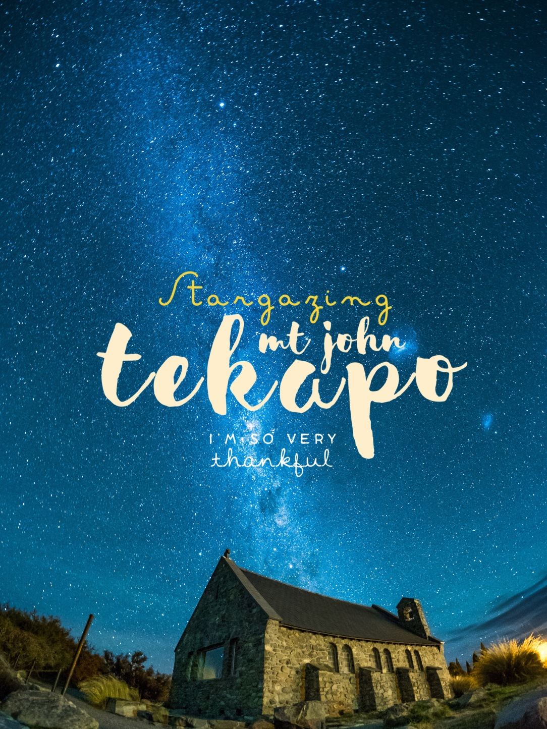 Lake Tekapo, Mount John, Stargazing, New Zealand