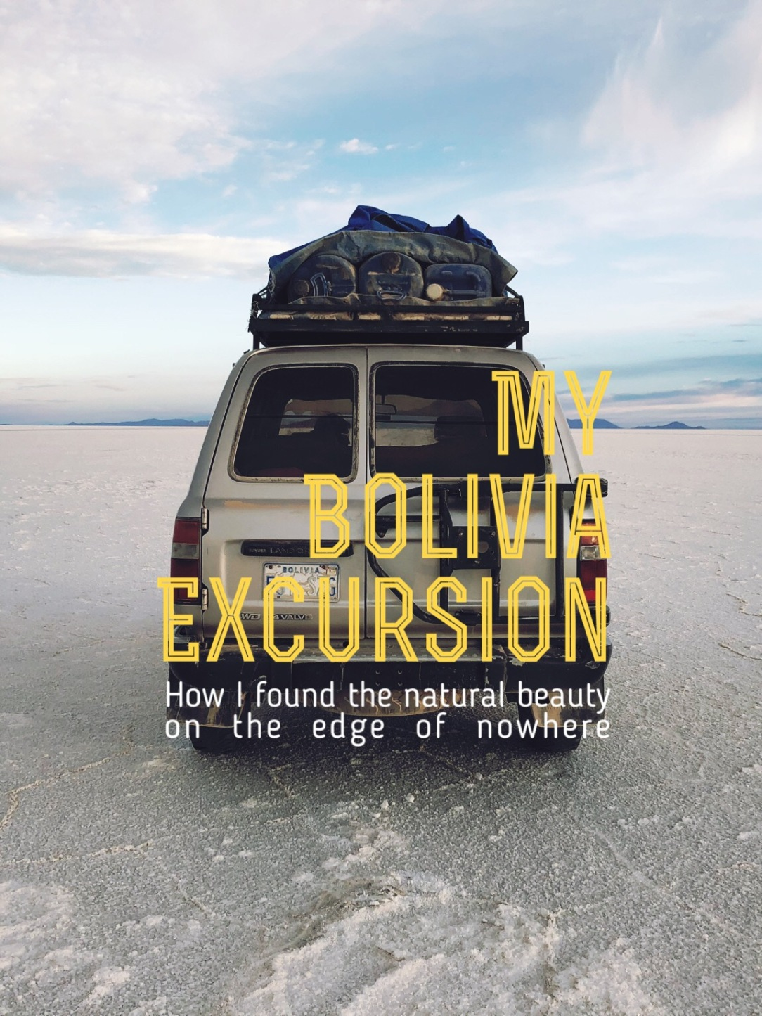 Uyuni, Bolivia Cover