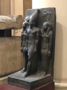 Egyptian Museum (7) - Triad of Menhaure