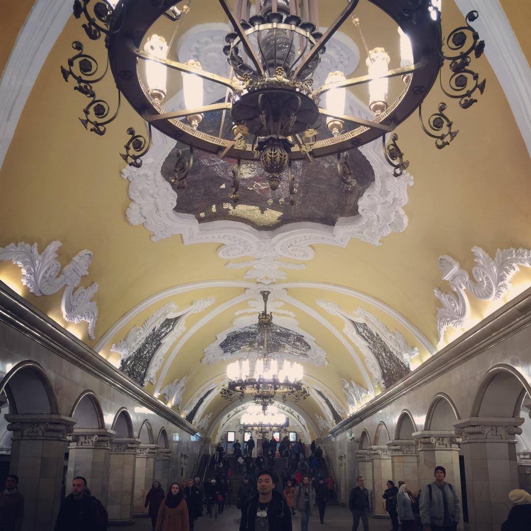 Moscow 4-day itin Day 3 Metro