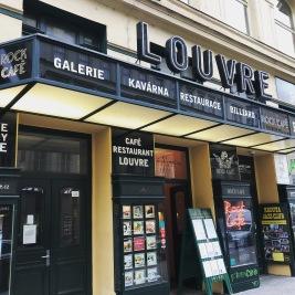 Prague - Cafe Louvre 1