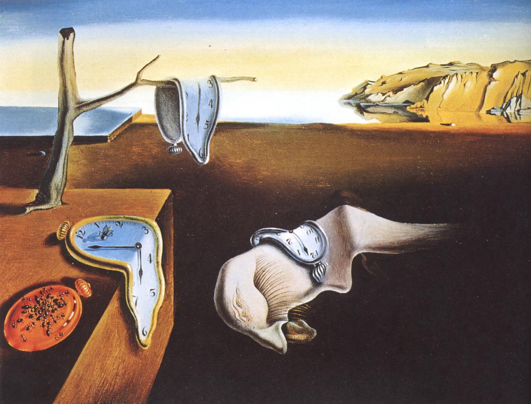 3 Salvador Dalí Desert The Persistence of Memory